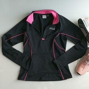 Fila Sport Performance Jacket Black and Pink